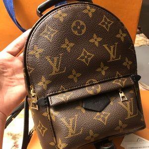 Louis Vuitton Palm Springs mini 💯% authentic